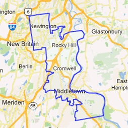9th senate district Google map