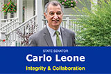 Image of Senaor Leone's e-news.
