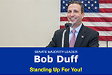 Image of Senator Duff's E-News.